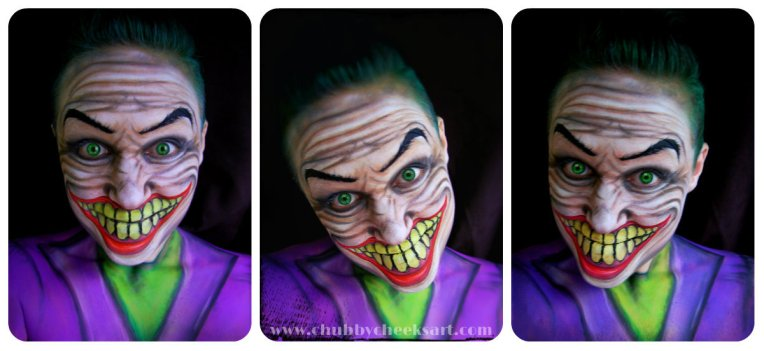 collage joker less grunge with link