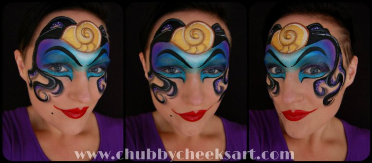 Ursula Makeup Day 12 link