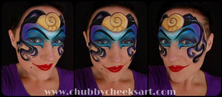 Ursula Makeup Day 12 link